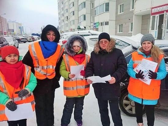 Авиаторы Югры, школьники и волонтеры -  за дороги без пьяных водителей